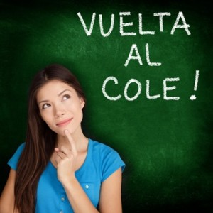 Vuelta al cole - Spanish student back to school